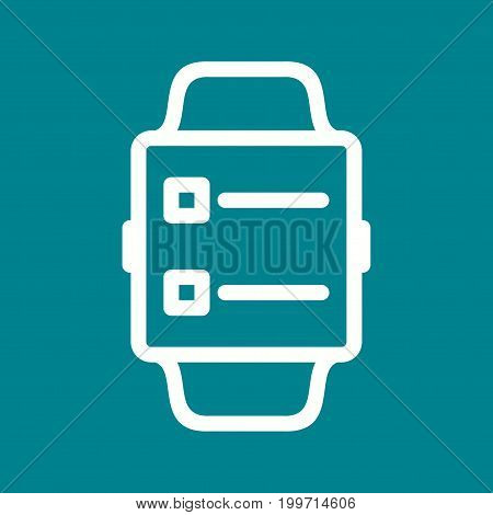 News, app, smart icon vector image. Can also be used for Smart Watch. Suitable for mobile apps, web apps and print media.