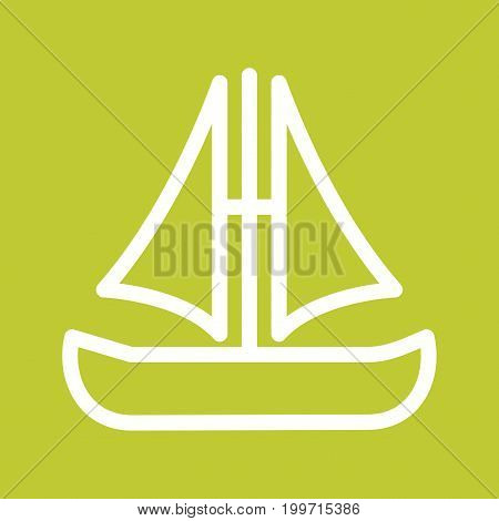 Ship, pirate, boat icon vector image. Can also be used for Pirate. Suitable for use on web apps, mobile apps and print media