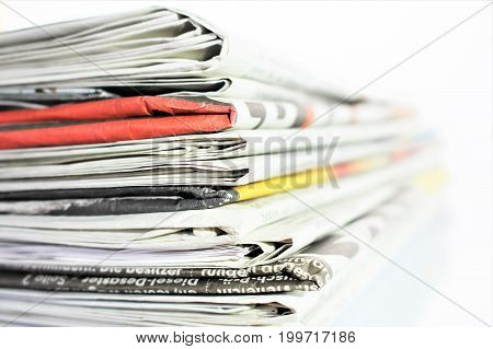 An image of a newspaper - press