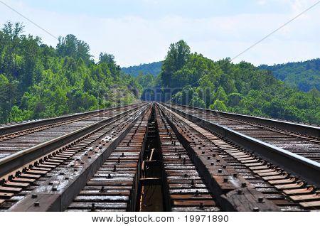 Trestle Falls Rail Bridge