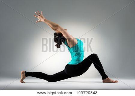 Dancer Show The Stretch Gymnastics Dance Posture