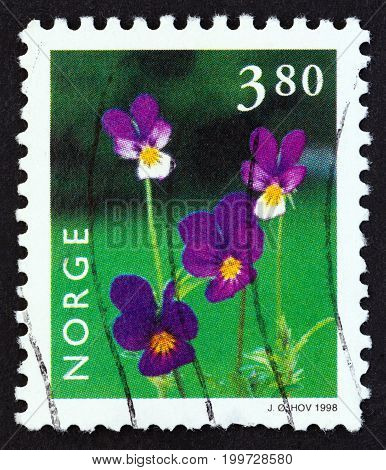 NORWAY - CIRCA 1998: A stamp printed in Norway from the