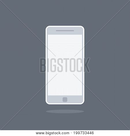 smartphone or cellphone icon vector . technology