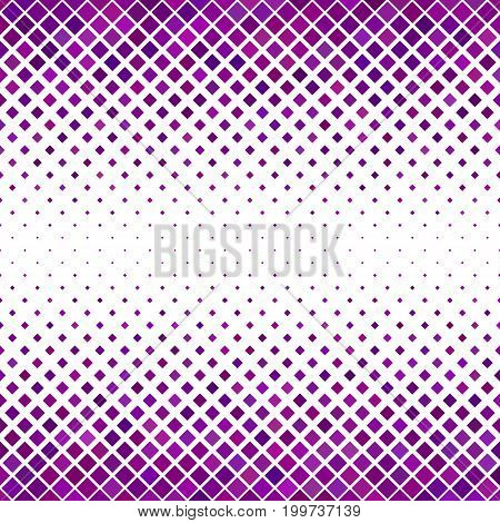 Colored diagonal square pattern background - geometric vector graphic from purple toned squares