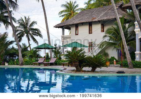 Swimming Pool In Phan Thiet, Vietnam