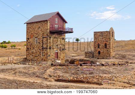 Morphett's Enginehouse Museum at the site of Burra Mine - Burra, SA, Australia, 8 February 2013