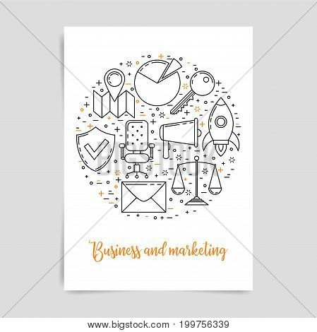 Business And Marketing Technology Concept