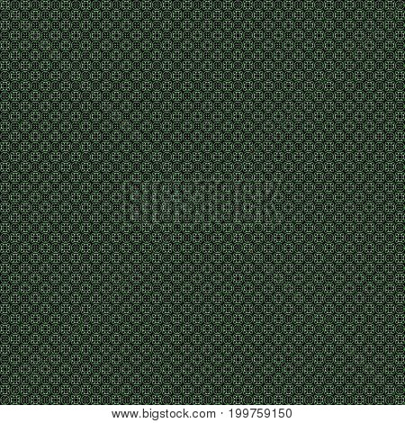 Seamless Abstract Grunge Green Texture Fractal Patterns