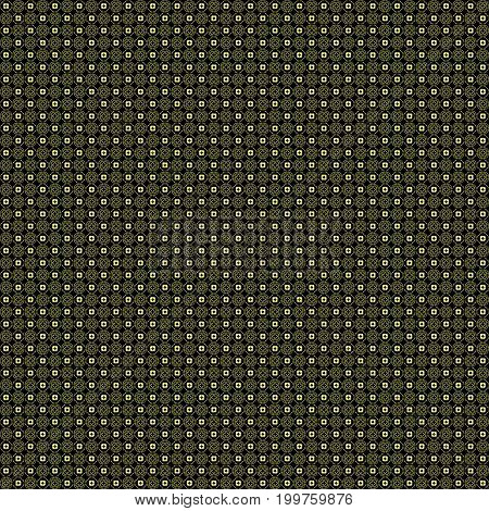Seamless Abstract Grunge Yellow Texture Fractal Patterns