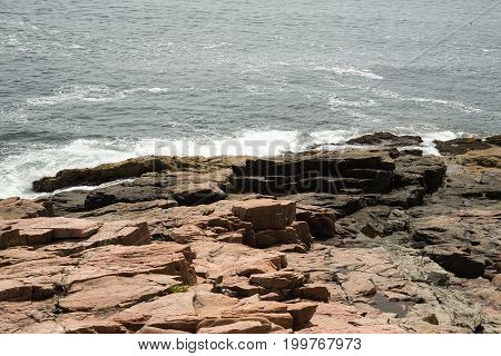 View Towards Newport Cove In Acadia National Park