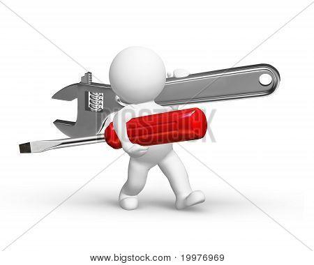 Repairman Rush To Help