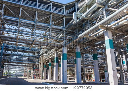 Chemical production of rubber in Voronezh at the SIBUR plant