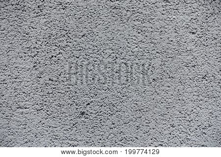 Close Up Of Grey Concrete Wall Surface