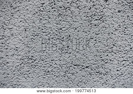 Macro Of Rough Surface Of Light Grey Wall