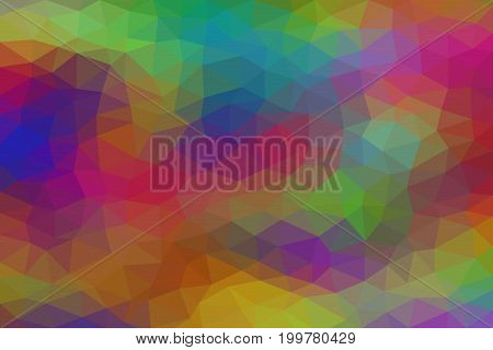 Background with triangle pattern , Abstract mosaic background , Polygonal background