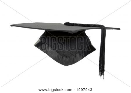 Graduation Mortar Isolated.