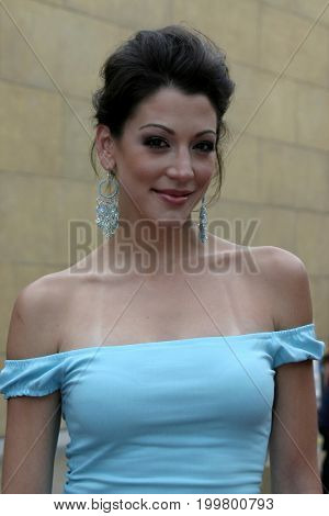 Marie Benes at the 8th Los Angeles Latino International Film Festival held at the Egyptian Theater in Hollywood, USA on July 16, 2004.