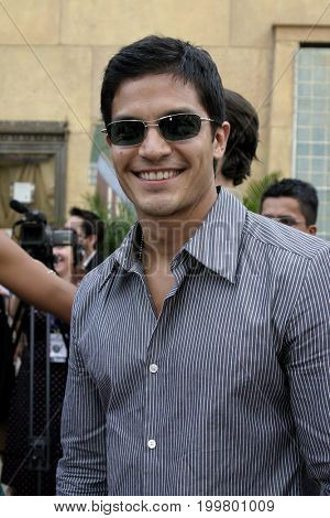 Nicholas Gonzalez at the 8th Los Angeles Latino International Film Festival held at the Egyptian Theater in Hollywood, USA on July 16, 2004.