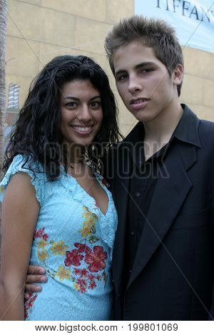Pablo Santos and Yolanda Pecoraro at the 8th Los Angeles Latino International Film Festival held at the Egyptian Theater in Hollywood, USA on July 16, 2004.
