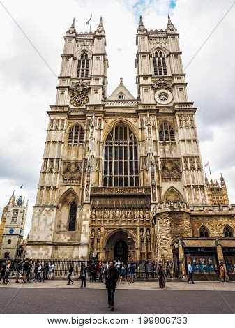 Westminster Abbey In London (hdr)