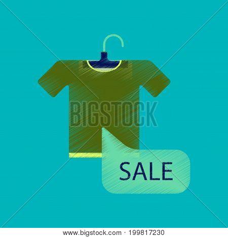 flat shading style icon sale T-shirt merchandise