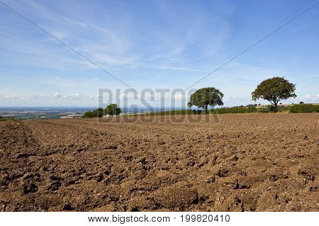 Vale Of York And Plow Soil