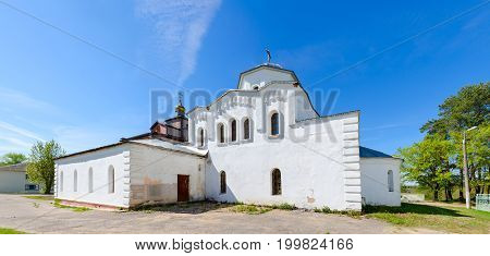 Church of Holy Great Martyr and Healer Panteleimon urban settlement of Ruba Vitebsk region Belarus
