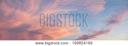 Beautiful Sunset Sky Big Size