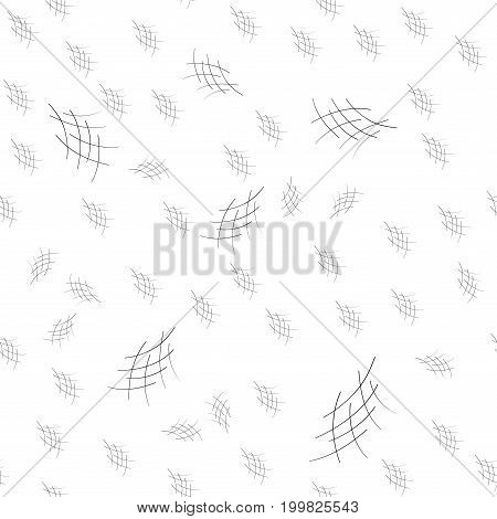 Crosshatch seamless pattern. Fashion graphic background design. Modern stylish abstract texture. Monochrome template for prints textiles wrapping wallpaper etc. Vector illustration