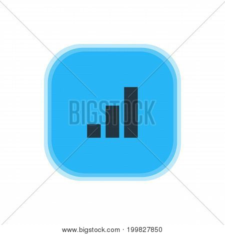 Beautiful Internet Element Also Can Be Used As Increase Chart  Element.  Vector Illustration Of Progress Bar Icon.