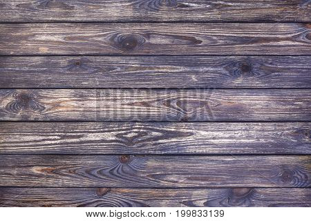 Rustic wooden background, dark old scratched wood