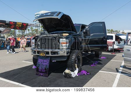 Ford F-250 On Display During Dub Show Tour