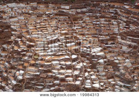 Ancient Salt Basins at Maras, Peru