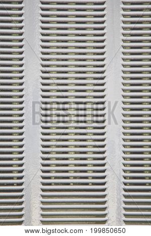 Silver metal plate background and pattern