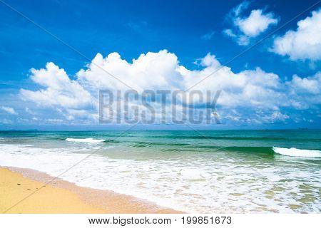 In a Sunny Paradise On a Beach