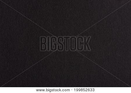 Blank black paper background.  Real dark paper texture
