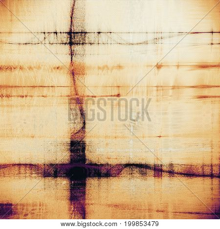 Grunge antique frame, vintage style background. With different color patterns