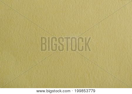Blank yellow paper page surface. Yellow paper texture