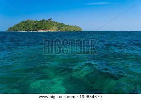 Transparent Waters Blue Atoll
