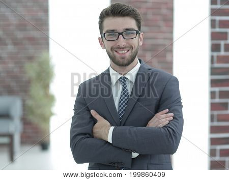 portrait of an experienced lawyer