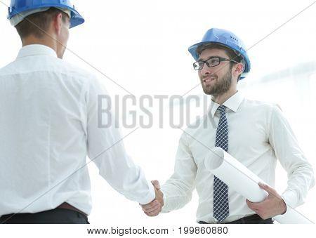 handshake architect and civil engineer