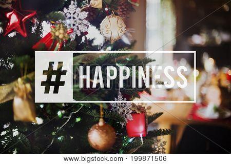 Merry Christmas Enjoyment Cheerful Xmas