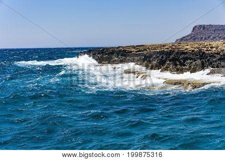 Sea dream in Protaras Paralimni Cyprus Greece Sea island Cyprus