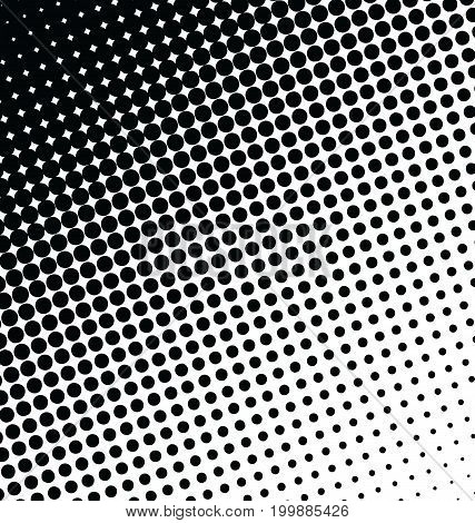 Abstract Dotted Vector Background Halftone Effect 2.eps
