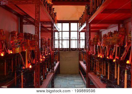 A Set Of Chinese-buddhist Amulet