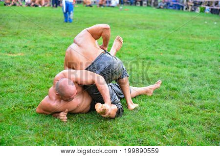 concept of wrestling tough & wrestlers and hero