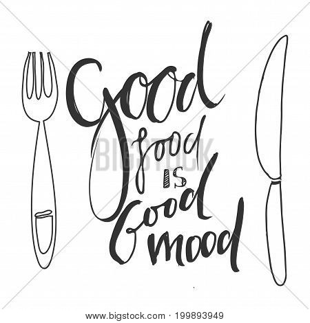 Life is food. Food is an art. Good food is good mood. My kitchen is for dancing. Food makes me happy. Calories don't count  on the weekend. Eat, drink and be thanlful. Eat, drink, enjoy.Hand lettering