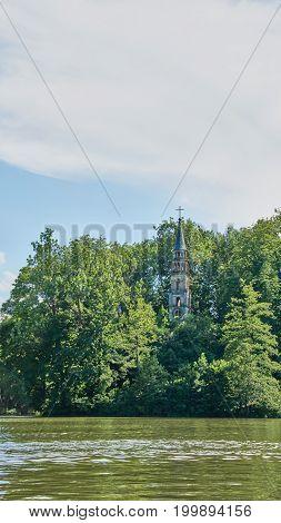 Abandoned Church In Monrepos Castle Park - Ludwigsburg