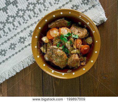 Estonian Stew Pork