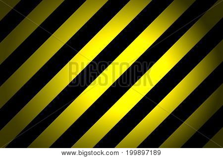 Yellow and black striped from left to right background illustration